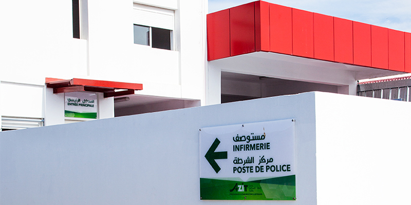 infirmerie-police-services-zone-azit-tanger